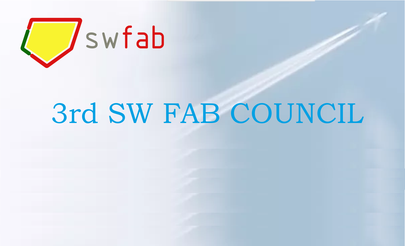 3rd SW FAB Council Meeting
