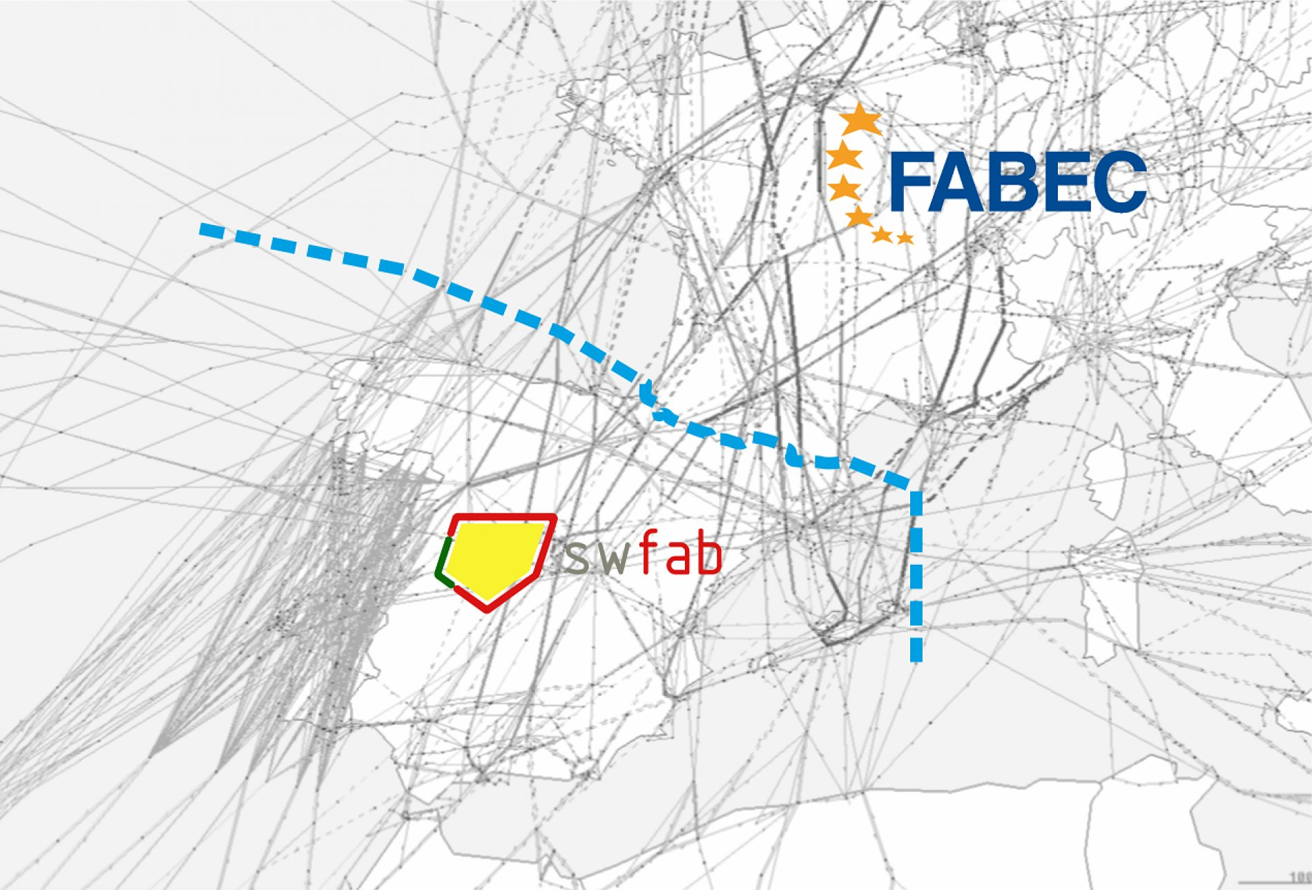 FABEC and SW FAB  operational cooperation